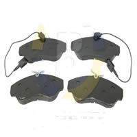 PASTILHA FREIO DIANTEIRA (ARO 16 COM ALARME)  JUMPER 97>  DUCATO 2.8 97/2002 M- 159,8 X 64,2 X 18,5 - BAC30528JG